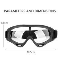 Goggles Safety Protective Glasses Anti spatter Anti fog Dust proof Windproof Fully Enclosed Transparent Riding Glasses