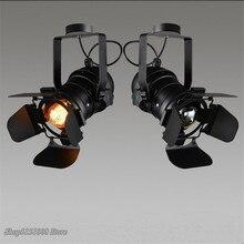 Винтажный промышленный светодиодный светильник для отслеживания, ретро Точечный светильник, регулируемый светильник для кофейного бара, светильник для магазина, домашний декор, светильник