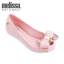 Melissa mel sapatos originais 2021 novas mulheres sandálias lisas marca melissa sapatos para as mulheres geléia sandálias femininas jelly sapatos