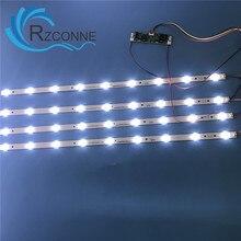 651mm * 17mm 9leds LED arka lambalar LED invertör 32 inç TV monitörü paneli ve billboard