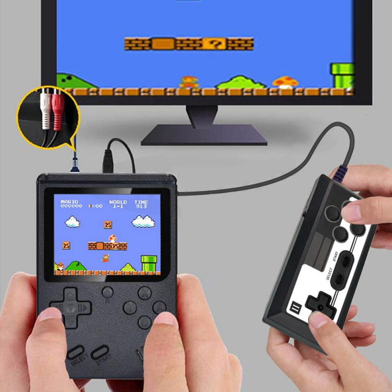 2020 HOTSALE 500 in 1 Retro handheld video game console portable pocket game game console Mini handheld player for children gift