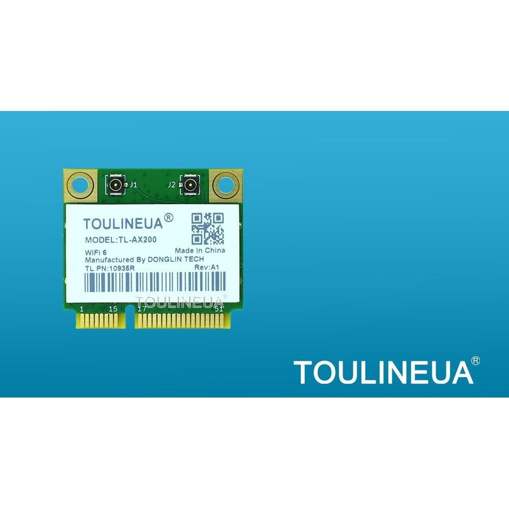 TL AX200 A1 intel AX200 WiFi6 Mini PCIe AX200HMW IntelAX200NGW mini AX200NGW Wi Fi сетевая карта PK 9560AC 9260AC 8265ac Сетевые карты      АлиЭкспресс