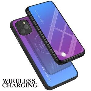 Image 2 - Iphone 11 11 プロケース 5000 mah勾配 2 で 1 磁気ワイヤレス充電器powerbank iphone 11 11 プロマックスバッテリーケース