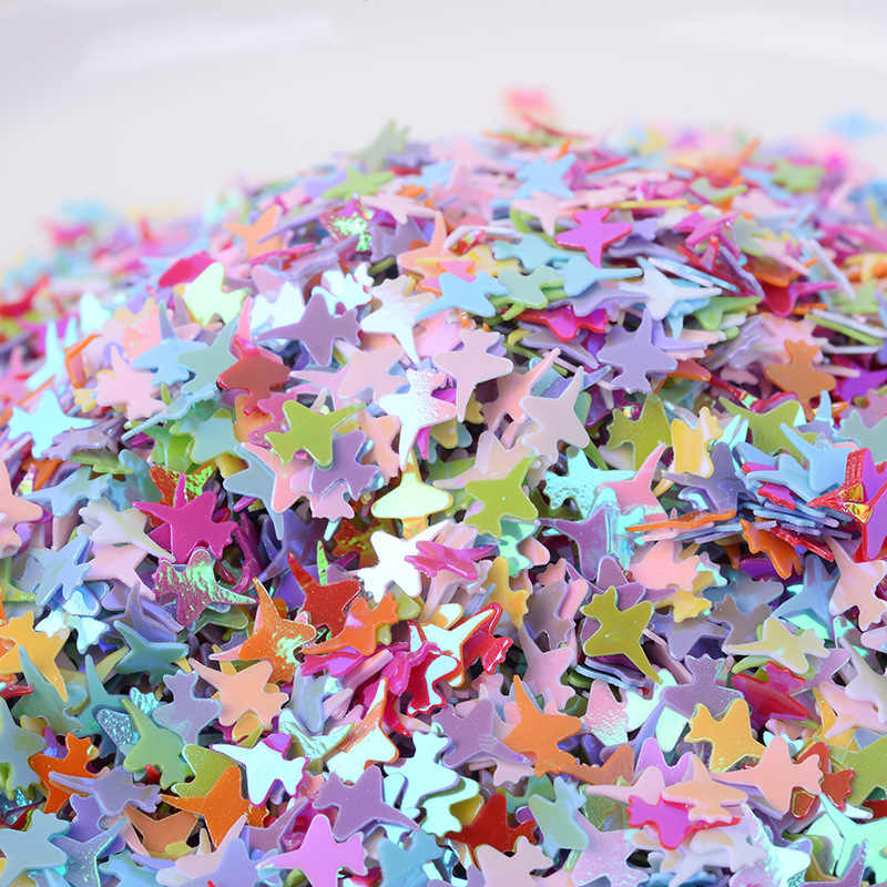 10g/lot Airplane Paillettes Glitter Sequin Loose Sequins for Crafts DIY Nails Art Manicure Wedding Decor Confetti 4*6mm