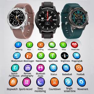 Image 2 - Смарт часы FIFATA для мужчин и женщин, умные часы DT78 с пульсометром, тонометром, кислородом, PK Huawei GT 2, Amazfit GTR