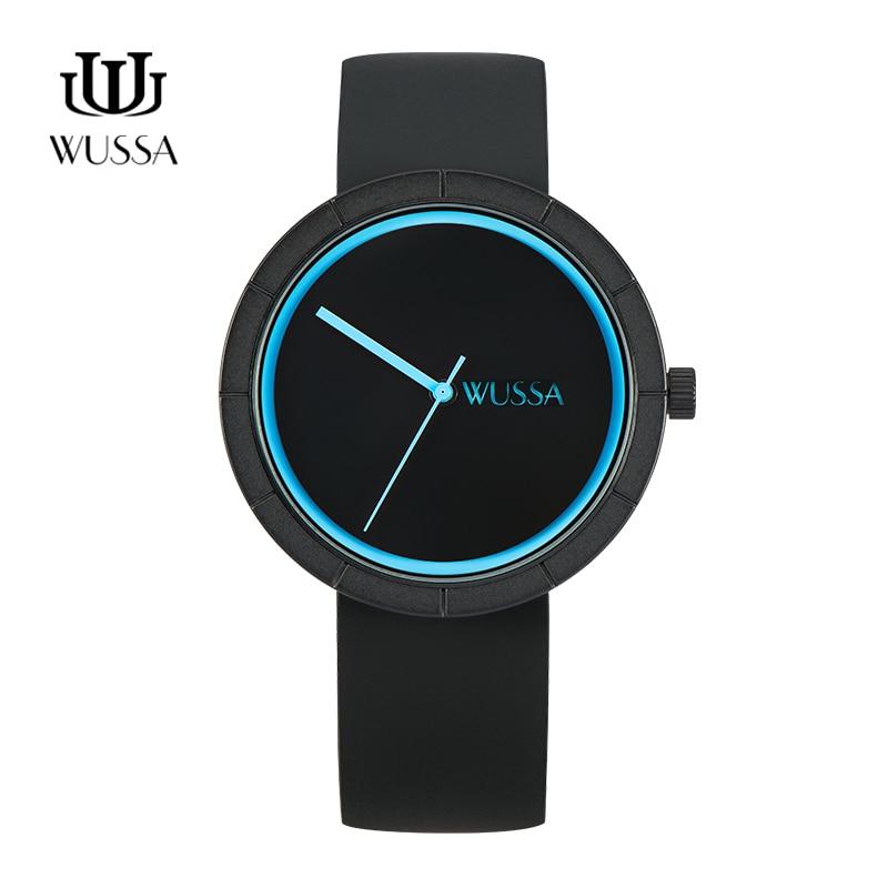 WUSSA знаменитости Простой нейтральный набор кварцевых часов