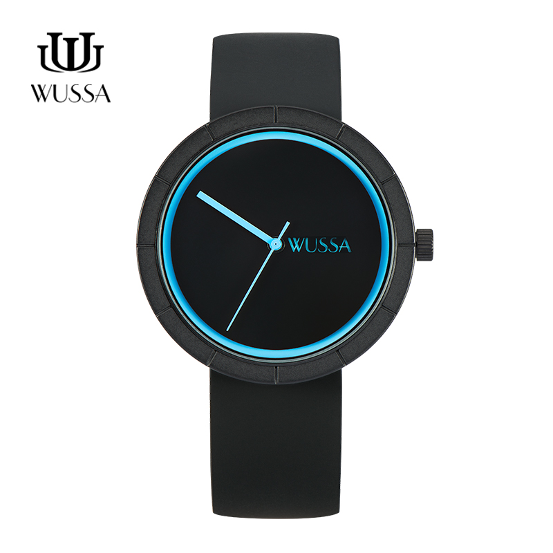 WUSSA Web Celebrity Simple Neutral Quartz Couple Watch