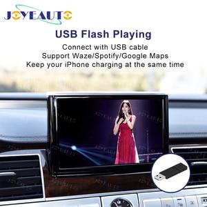 Image 3 - Joyeauto אלחוטי Apple Carplay לאאודי A1 A3 A4 A5 A6 A7 A8 Q3 Q5 Q7 C6 MMI 3G 2G RMC 2005  2018 iOS13 אנדרואיד מראה רכב לשחק