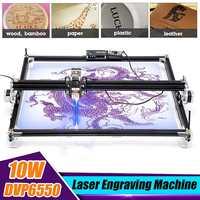 Mini 10000MW Laser Engraver Wood CNC Router Machine Y axis Hobby Home DIY Metal Engraving Machine Desktop Wood Cutting Tools