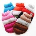 Утепленная теплая одежда для собак, зимние пальто для собаки, куртка, жилет, водонепроницаемая одежда для маленьких и средних собак, наряд
