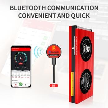 Daly inteligente BMS 3S-24S Li-Ion LiFePo4 con Bluetooth para 4S S 7S 8S 8S 12 13 14 15 16 17S 20S para paquete de batería de litio 2