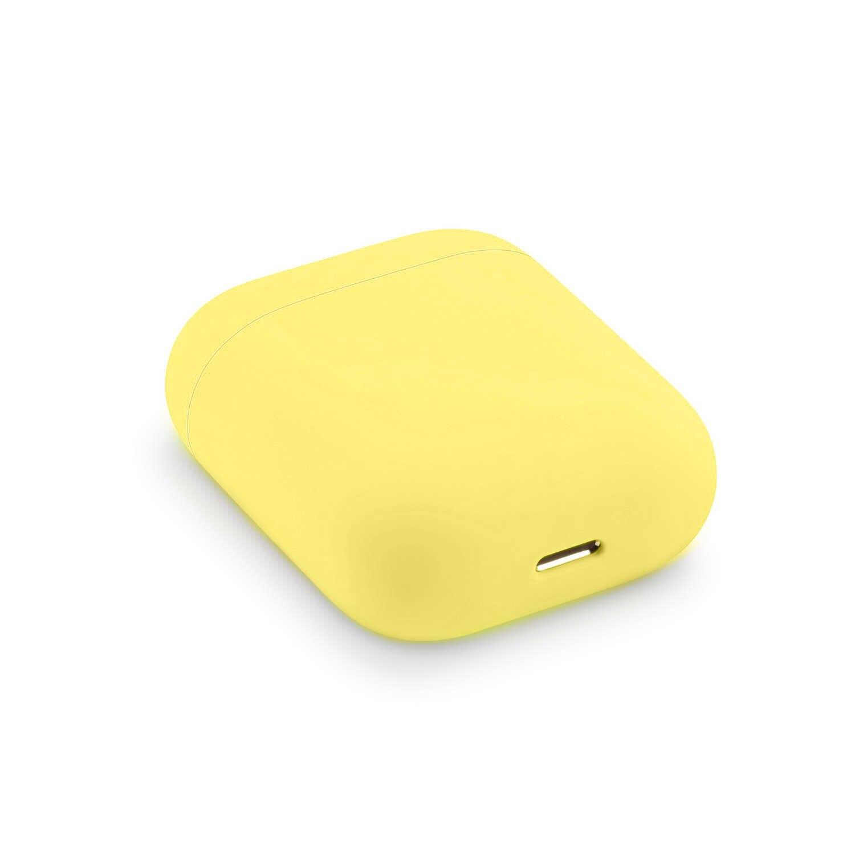 Molle Del Silicone Custodie Per Apple Airpods 1/2 di Protezione Senza Fili di Bluetooth del Trasduttore Auricolare Della Copertura Per Apple Air Baccelli Casella di Ricarica Borse