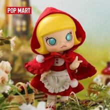 POPMART مولي BJD دمية الأحمر الصغير مولي هدية عيد ميلاد طفل لعبة عمل الشكل هدية عيد ميلاد لعبة طفل شحن مجاني
