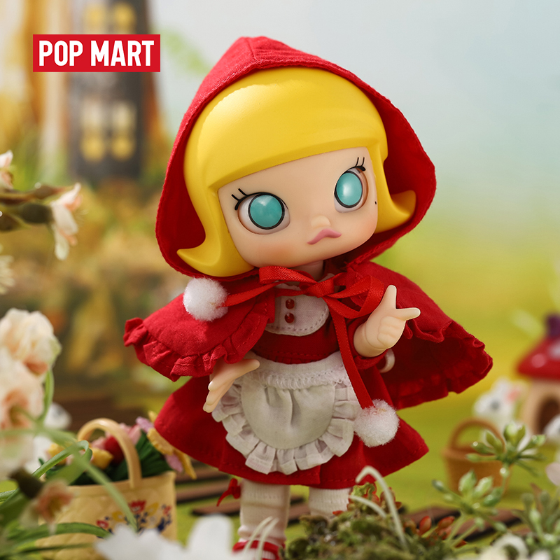 POPMART Molly BJD Doll Little Red Molly Birthday Gift Kid Toy Action Figure Birthday Gift Kid Toy free shipping(China)