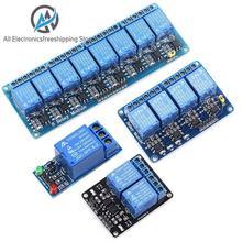 ¡5 V 12V 1 2 4 6 8 módulo de canal de relé con optoacoplador! Relé de salida 1 2 4 6 8 vías módulo de relé para arduino en stock