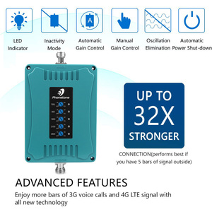 Image 2 - Australia GSM LTE 5 Band Mobile Phone Signal Booster 700/900/1800/2100/2600MHz 70dB 2G 3G 4G Repeater Amplifier for Voice & Data