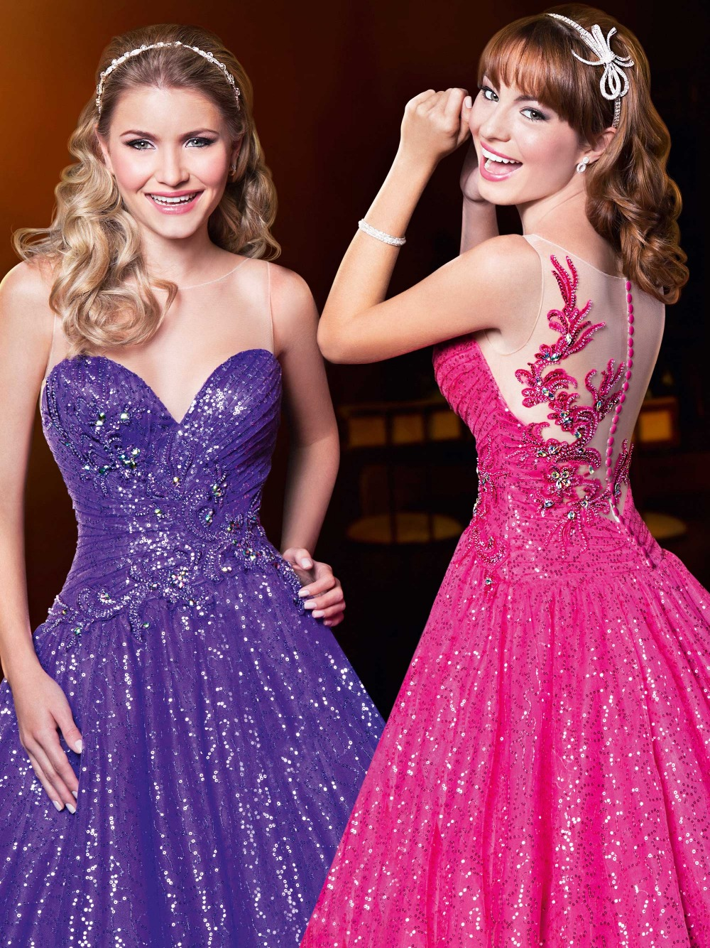Pristian Zouboutin Ball Gown Sequined Lace Prom Crystal Decoration Long Plus Size Vestidos De Baile Mother Of The Bride Dresses