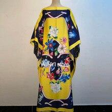 Womens Boho Maxi Floral Dress плать Summer Long Sleeve Dress