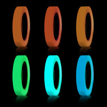 1cm X 1M Luminous Fluorescent Night Self-adhesive Glow In The Dark Sticker Tape Safety Security Home Decoration Warning Tape 1