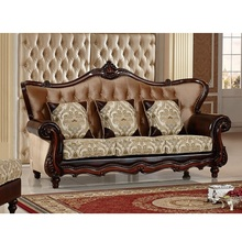 Velvet fabric sectional sofas Living Room Sofa set furniture alon couch puff asiento muebles de sala WA595