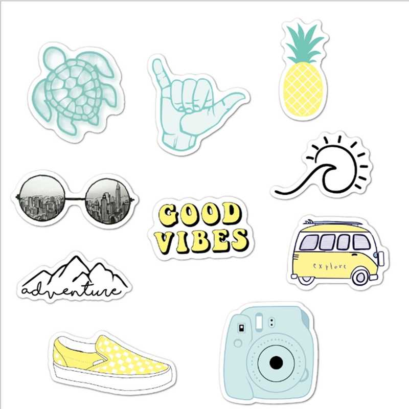 Vsco Stickers Pack 10Pcs Cute Stickers Aesthetic Stickers ...