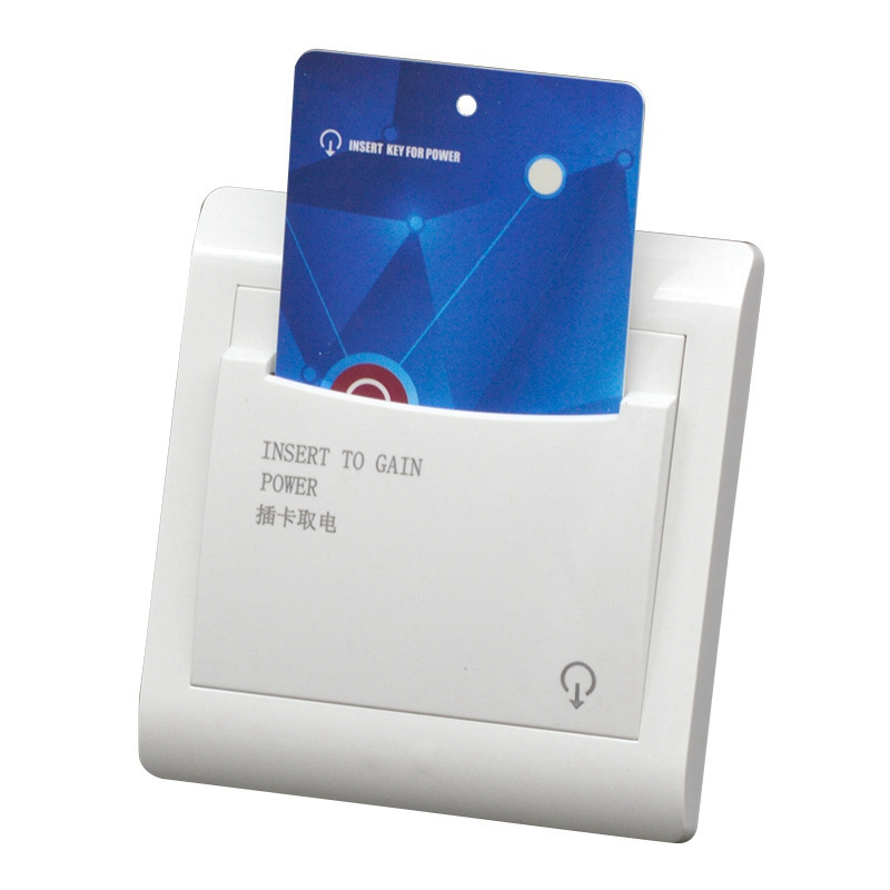 High Grade Hotel Magnetic Card Switch Energy Saving Switch Insert Key For Power 30S Delay