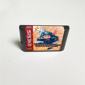 Image 2 - Rocket Knight Adventures funda de EE. UU. Con caja de venta al por menor, tarjeta de juego MD de 16 bits para Sega Megadrive Genesis, consola de videojuegos