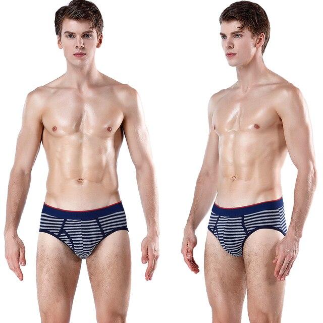 Мужские трусы плавки из хлопковой ткани не стесняющие движения 4