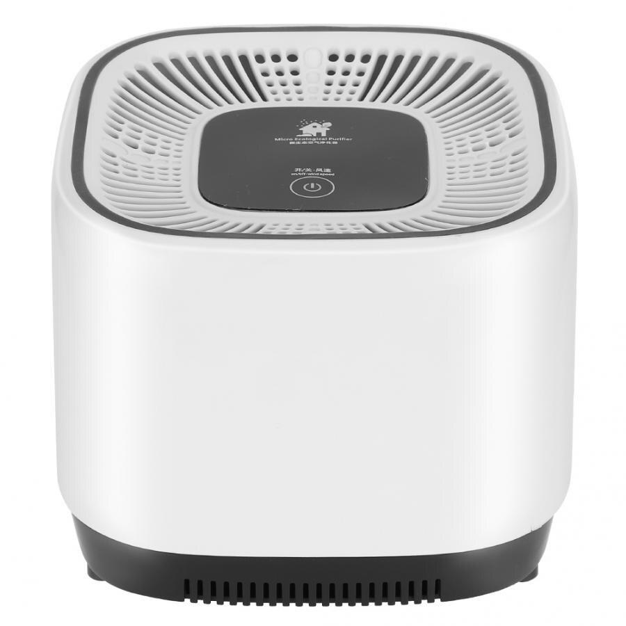3 katmanlı filtre hava temizleyici 360 derece mikro ekolojik negatif iyon jeneratörü ev hava temizleyici Ionizer Aroma YAYICI temizleyicileri