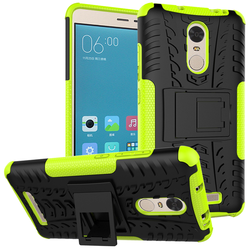 For Xiaomi Redmi Note 8 8A 8T 10 3 3S 4 4X 4A 5 5A 7 GO Plus S2 6 6A Pro Shockproof Silicone Kickstand Armor Phone Case Cover(China)