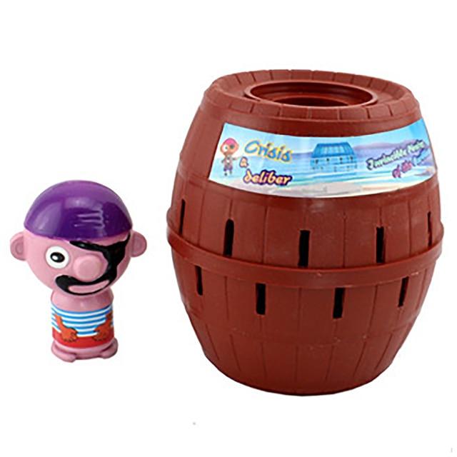 Funny Novelty Kids Children Funny Lucky Game Gadget Jokes Tricky Pirate Barrel Game NTDIZ1040 4