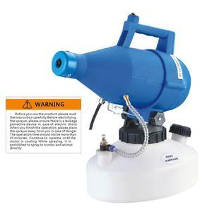 Image 1 - חשמלי ULV Fogger מכונת במיוחד נמוך נפח מרסס מרסס ערפל דק מפוח חומרי הדברה Nebulizer 4.5L קוטל חרקים Nebulizer