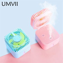 2019 New Technology Mini Humidifier Fan 250ML Air Purifier Portable USB