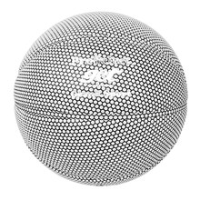 Silver Reflective Basketball Ball Size 7 Team Sports For Men Outdoor Indoor Training Practice Play Games