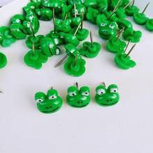 Stationery Pushpin Tacks-Pin Nail Thumbtack Cork Drawing Plastic Cute 50pcs Frog-Shape