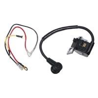 Substituição da bobina de ignição módulo para stihl 021 023 025 ms210 ms230 ms250 motosserra vela de ignição com fios de instalação Sensores e interruptores     -