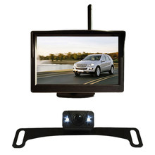 5 Inci Mobil Nirkabel Monitor Display LCD HD Sn dengan Air Malam Visi Rear View Reverse Cadangan Kamera WX5301D(China)