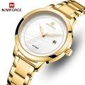 NAVIFORCE женские часы лучший бренд Роскошные часы женские водонепроницаемые кварцевые женские наручные часы женские часы Relogio Feminino