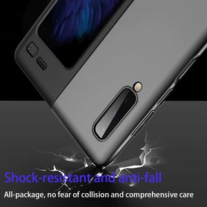 Image 5 - LAPOPNUT Thin Fit Galaxy Fold Phone Case for Samsung Galaxy Fold 2019 Cover Designed Matte Black Shockproof Hybrid Hard Coque