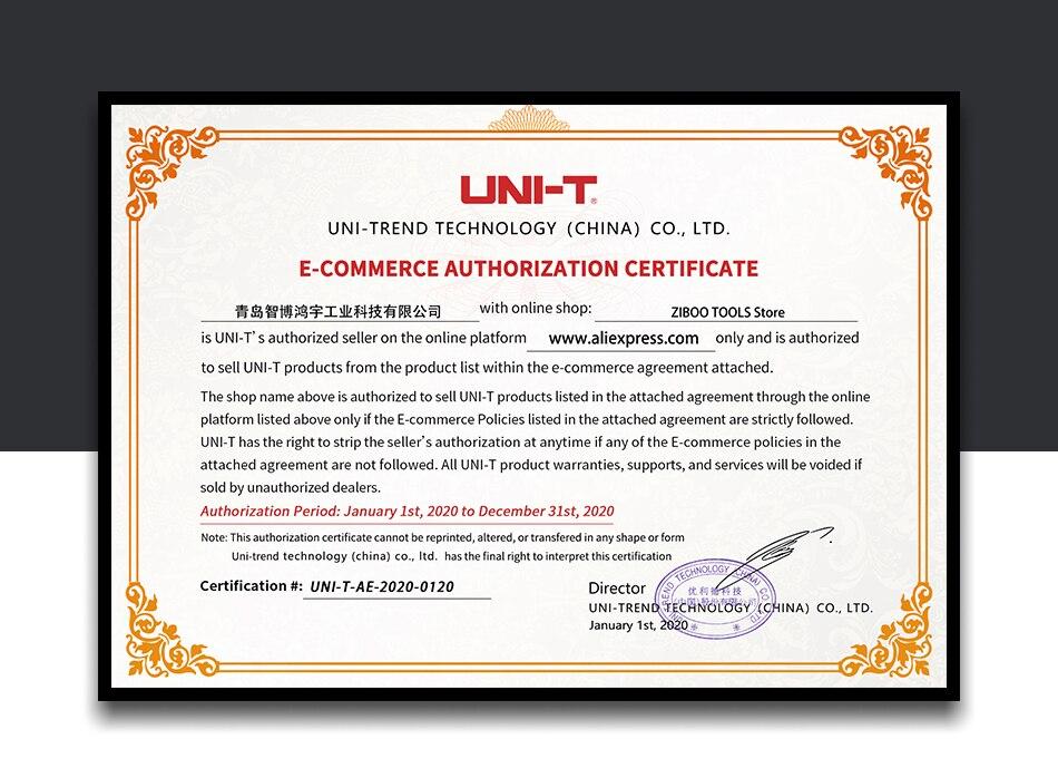 UNI-T ut620a digital micro ohm medidor de