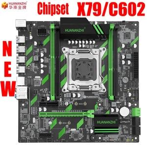 HUANANZHI X79 carte mère huanan X79 ZD3 LGA2011 ATX SATA3 USB3.0 double PCI-E 16X NVME M.2 support SSD REG ECC RAM Xeon E5 CPU(China)