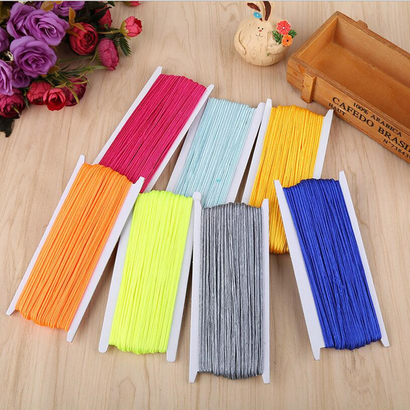 34 Yards (31 Meters) 3MM Chinese Knot Soutach Colors Nylon Cord Thread String For DIY Beading Jewelry Handmade Braided Material