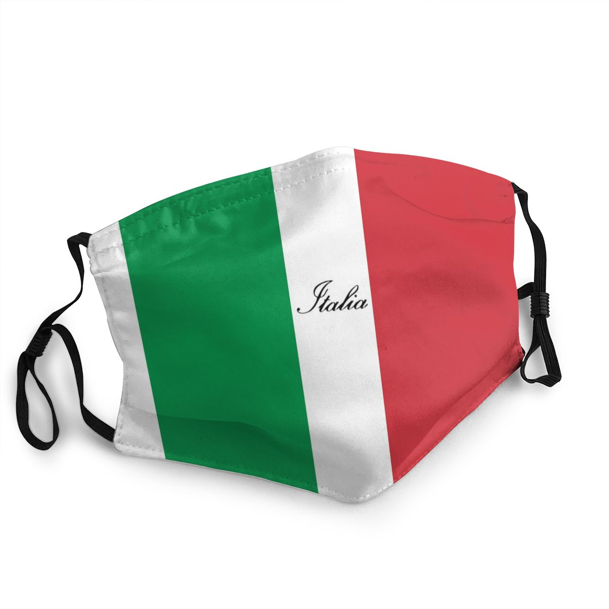 Adult Dust Mask Italian Flag Of Italy Italia Washable Face Mask PM2.5 Anti Haze Protection Mask Cover Respirator Mouth Muffle