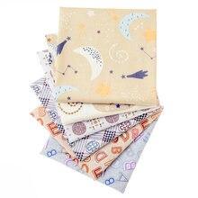Новая хлопковая ткань с принтом для занавесок наволочек сделай
