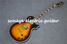 цены Suneye Vintage Sunburst Glossy Finish Custom Electric Guitar Gold Hardware Guitarra Electrica China DIY Guitars