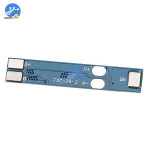 Image 3 - 2S 2 hücre 3A Li ion Lityum Pil 7.4 8.4V 18650 Şarj koruma levhası için BMS PCM Li ion Lipo pil hücresi paketi