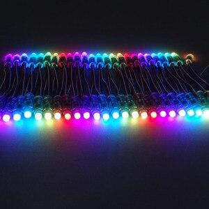 Image 3 - 1000 قطعة WS2811 IC RGB بكسل LED مصابيح إضاءة وحدة كامل اللون وحدات مصباح عظيم للزينة الإعلان أضواء DC5V/12 فولت