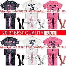 20 21 Top Quality shirt MARCELO new home away third 2020 2021 Real MadridES shirt Children BENZEMA MODRIC HAZARD VALVERDE