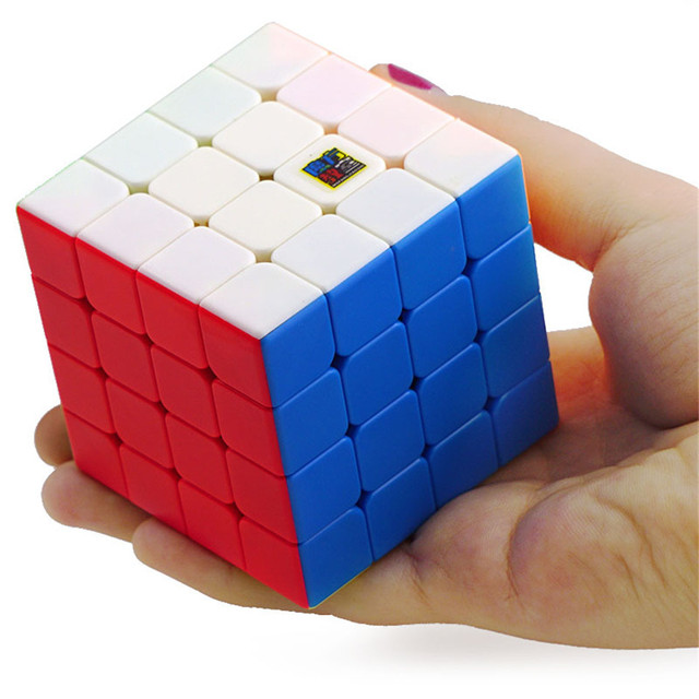 Moyu Meilong 4x4 Speed Cube Magic Puzzle Strickerless 4x4x4 Neo Cubo Magico 59mm Mini Size Frosted Surface Toys for Children 2