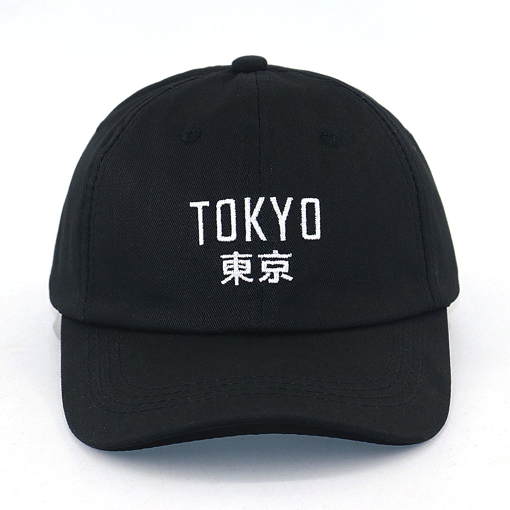New Arrival Japan Harajuku cap Tokyo City embroidery fashion baseball cap 100% cotton adjustable black hip hop snapback hat title=